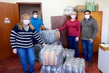 Ações do Voluntariado Sabesp Vale ajuda a aquecer famílias em vulnerabilidade