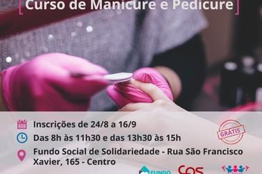Fundo Social de Solidariedade de Registro abre inscrições para curso de manicure
