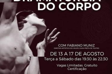 Grupo Caixa preta promove curso Dramaturgia do Corpo