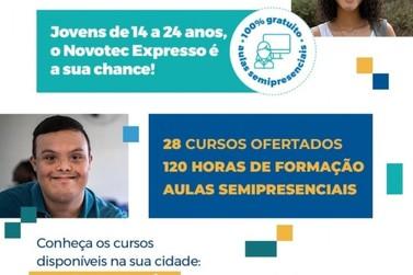Ilha Comprida abre inscrições para os cursos do Novotec Expresso