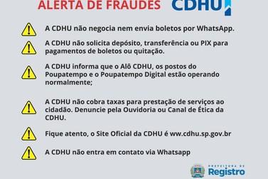 Novo golpe envolvendo o CDHU asssusta moradores de Registro