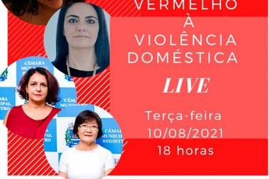 Procuradoria Especial da Mulher promove LIVE para debater a violência doméstica