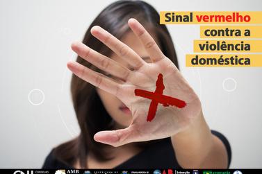 Registro adere à campanha Sinal Vermelho Contra a Violência Doméstica