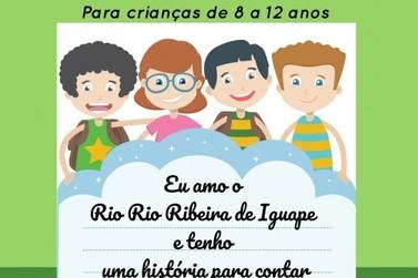 """Academia Serenarte promove Concurso de Redação """"Eu amo o Rio Ribeira"""""""