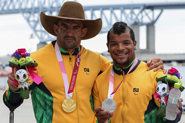Fernando Rufino e Giovane de Paula garantem medalhas inéditas nas Paralimpíadas