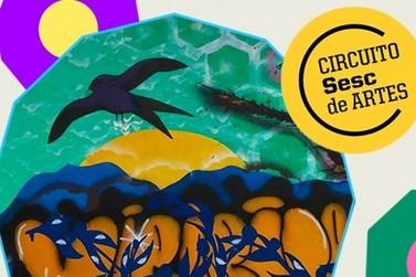 Grafiteiras de Eldorado mostram sua arte no Circuito Sesc de Artes
