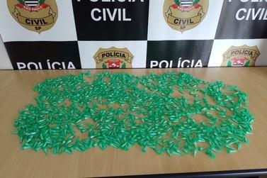 Polícia identifica local de venda de drogas com um quilo de cocaína em Registro