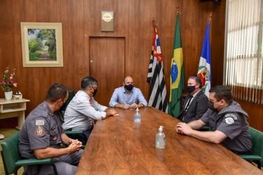 Prefeito Gustavo destaca trabalho integrado das forças de segurança