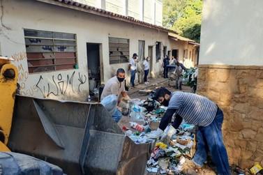 Prefeitura faz limpeza para revitalizar antigo prédio da Unesp no Santana