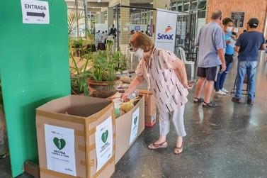 RC arrecada 1.300 quilos de alimentos em sete dias da Vacina Contra a Fome