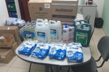 BRK Ambiental doa kits de higiene e limpeza para instituição de Santa Gertrudes
