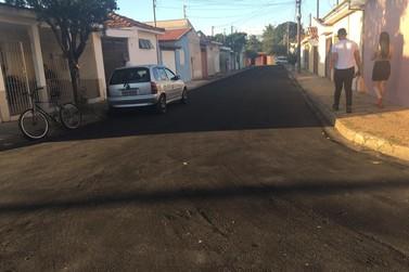 Melhorias no asfalto continuam sendo feitas  em diversos trechos de Rio Claro