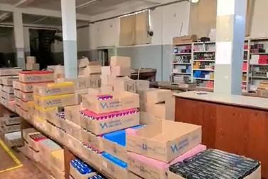 Polícia Civil descobre fábrica de perfumes falsificados e detém 27 suspeitos