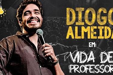 "Diogo Almeida apresenta espetáculo ""Vida de Professor II – Segunda Chamada"""