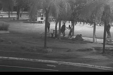GCM flagra homicídio através de videomonitoramento, localizam e prendem autor