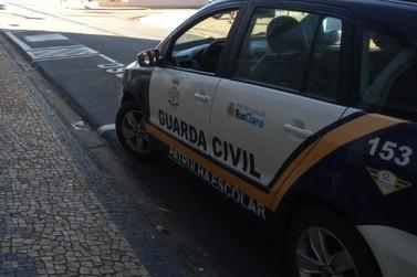 Moto com chassi e placa adulterados é apreendida na Avenida Castello Branco