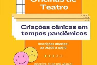 Santa Gertrudes abre inscrições para oficinas teatrais