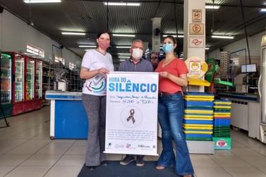 Cidade lança em supermercado o projeto Hora do Silêncio