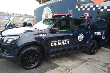 Comando da Guarda Civil visita a Guarda Civil de Cajamar-SP