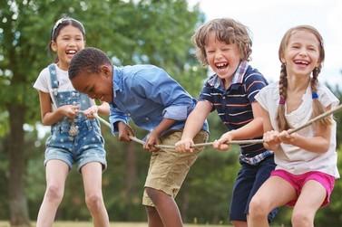 Festa das Crianças na  Feira do Produtor Rural