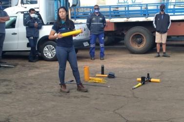 Funcionários do Daae fazem treinamento  sobre rede de gás natural encanado