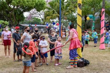 Lago Azul terá festa do Dia  das Crianças na terça-feira