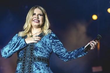 Marília Mendonça volta aos palcos em show na região