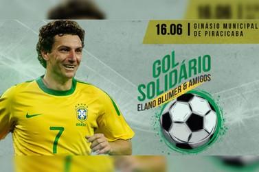 Ex-jogador Elano Blumer faz jogo beneficente neste domingo (16) em Piracicaba/SP