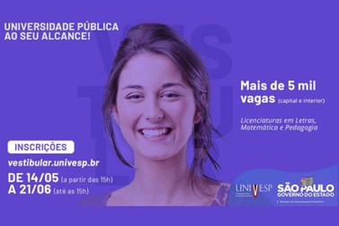 UNIVESP Rio das Pedras abre inscrições e oferece 20 vagas