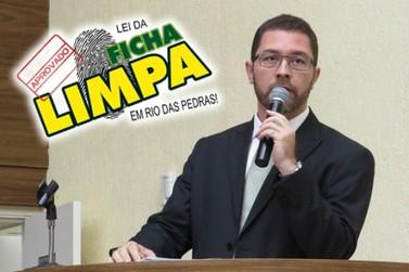 Vereador Dr. Fernando aprova Lei Municipal da Ficha Limpa na Câmara
