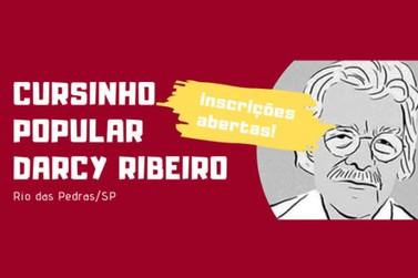 Estão abertas as inscrições para o Cursinho Popular Darcy Ribeiro