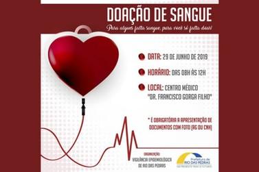 """O Centro Médico """"Dr Francisco Gorga Filho"""", promoverá ação para doação de sangue"""