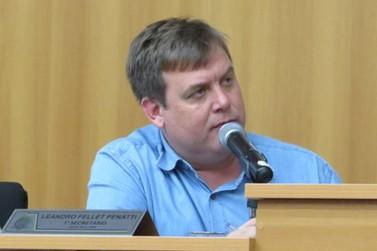 Presidente da Comissão Parlamentar de Inquérito, Vereador Leandro Penatti