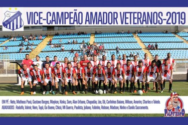 Riopedrense é Vice-Campeão do Campeonato Veterano 35