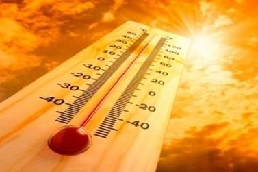 Temperatura na região pode chegar a 42°C nos próximos dias