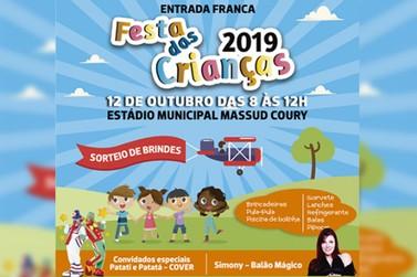 Prefeitura Municipal de Rio das Pedras realiza neste sábado festa das crianças