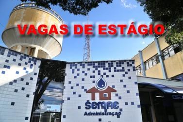 SEMAE de Piracicaba abre vagas de estágio para três áreas
