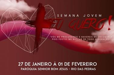 Paróquia Senhor Bom Jesus de Rio das Pedras realiza a 1ª Semana Jovem