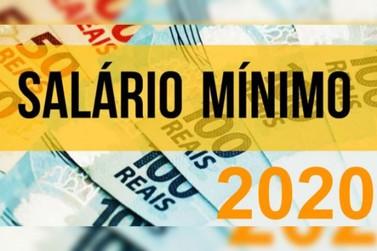 Salário mínimo de 2020 será de R$ 1.039