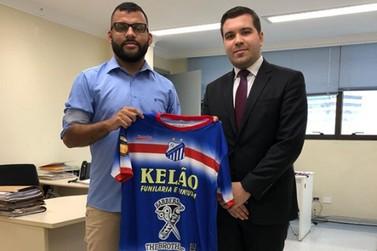 Diretor do Clube esteve na Sede da Federação Paulista de Futebol