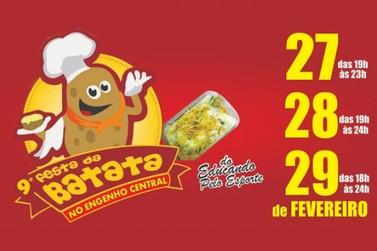 Festa da Batata acontece no Engenho Central nos dias 27, 28 e 29 de fevereiro
