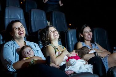 Shopping Piracicaba recebe primeira sessão do CineMaterna