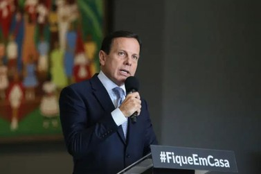 Doria anuncia prorrogação de quarentena em São Paulo até 31 de maio