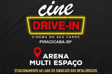 A cidade de Piracicaba vai ganhar cinema drive-in nesta sexta-feira (12/06)