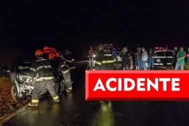 Grave acidente com 2 veículos é registrado na rodovia Piracicaba-Rio das Pedras