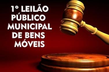 Prefeitura de Rio das Pedras realiza primeiro leilão de bens móveis do ano