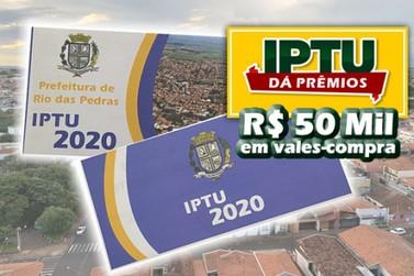 Prefeitura sorteará R$ 50 mil em vales-compra para IPTU em dia