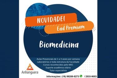 A Faculdade Anhanguera de Piracicaba informa o novo curso do campus Biomedicina