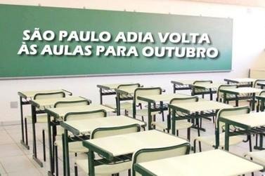 Volta às aulas é adiada para outubro, anunciou o governo de São Paulo