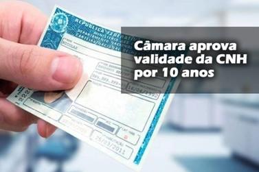 Carteira de motorista passa a ter validade de 10 anos